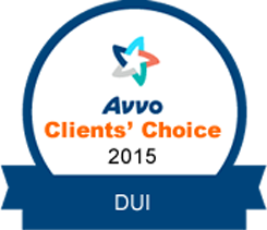 avvo clients choice 2015 DUI
