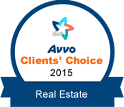 avvo clients choice 2015 real estate